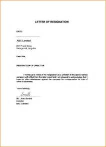 Resignation Letter Company by 5 Best Resignation Letter For Personal Reasons Wedding Spreadsheet