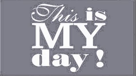 This Day the refresher this is my day original mix