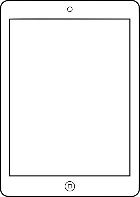 Image Outline by Clipart Outline For Responsive Designs