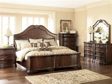 ashley millenium bedroom set 2 199 99 millennium by ashley camilla king panel bedroom