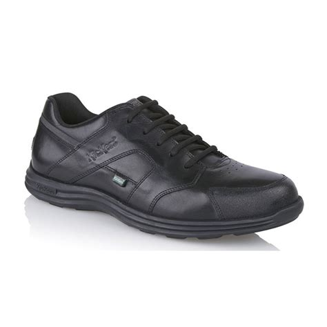 kickers luxury black safety kickers s seasan lace up black ideal work or school