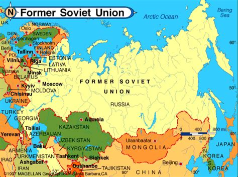 find out the list of ussr countries searchthe internet for definitions of these if you can t