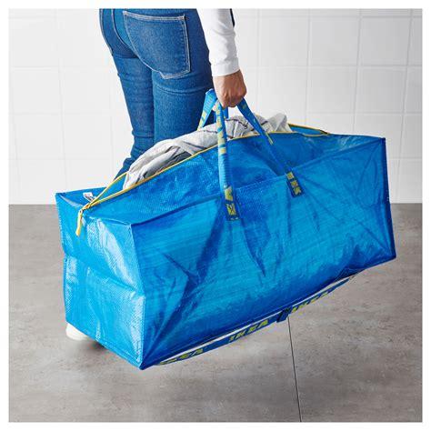 ikea bags frakta trunk for trolley blue 76 l ikea