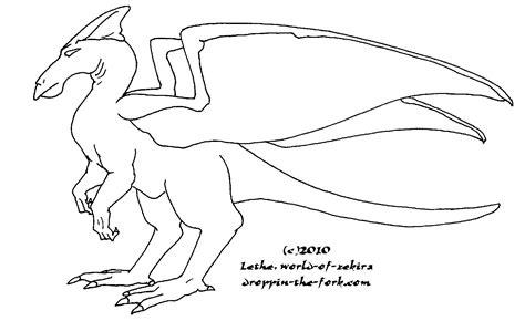 runner dragon template by lethe gray on deviantart