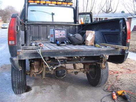 truck bed winch permanent winch power for the back of your truck off road com