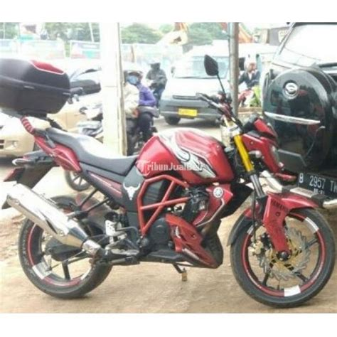 Peninggi Shock Depan Yamaha Byson motor yamaha byson th 2013 kondisi mesin original