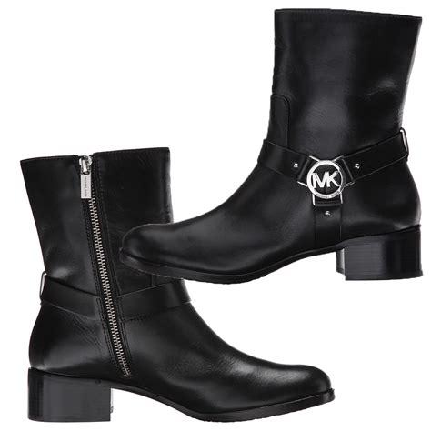 michael kors boots on sale sale michael kors logo ankle boots buyma