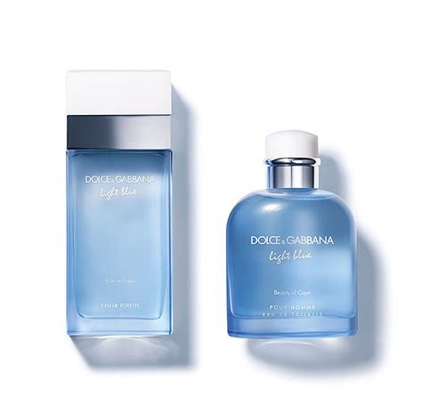 parfum d g light blue light blue pour homme beauty of capri dolce gabbana