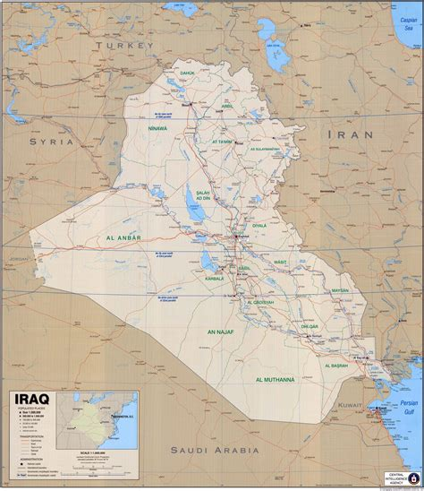 map of iraq cities maps of iraq detailed map of iraq in tourist