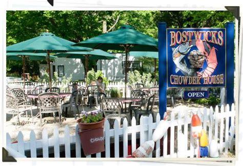 bostwicks chowder house aktiviteter i east hton tripadvisor