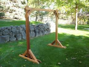 bench swing frame plans 54 best images about how to build n a frame swing on