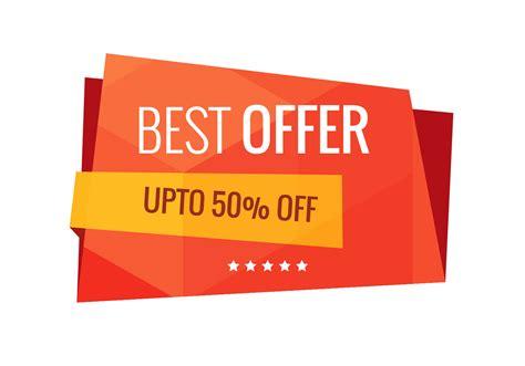 best free sle best offer sale banner vector free vector