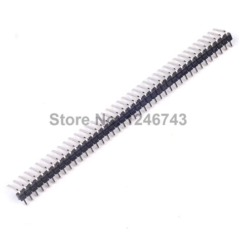 Single Row Right Angle Header 1x40 Pin cable connector pin promotion shop for promotional cable
