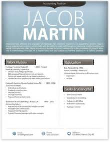 Free Modern Resume Templates For Word by Free Modern Resume Template 4 Free Resume Templates