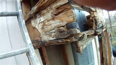 olathe chimney wood rot repair hd