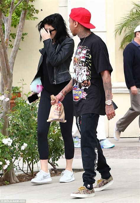 tyga tattoos kylie on his arm as jenner and blac chyna