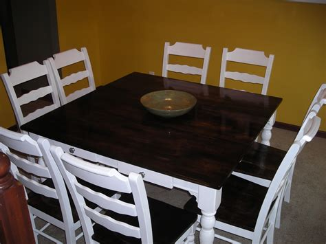 how to stain a dining room table refinishing a dining room table alliancemv com