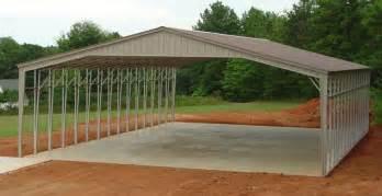 Large Metal Carports 32 To 40 Wide Sturdy Metal Carports Garages Metal Buildings