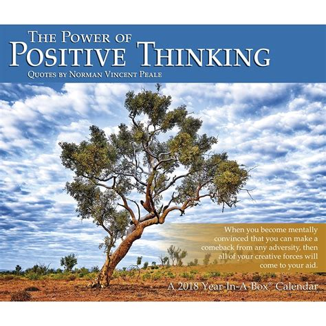 Power Of Positive Thinking power of positive thinking desk 9781635712032