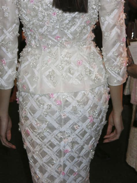 Opulent Caters Nicholas Oakwell Couture At Claridge S Fashion Show And