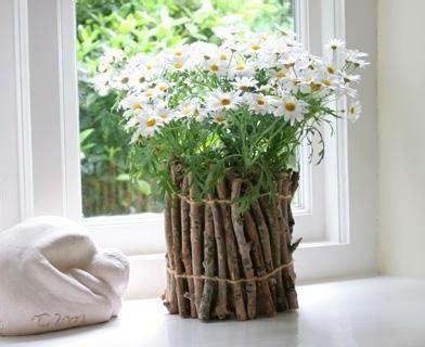 floreros rusticos de madera jarrones r 250 sticos decorar net