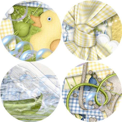 digital scrapbooking kits rubber ducky page kit kmess
