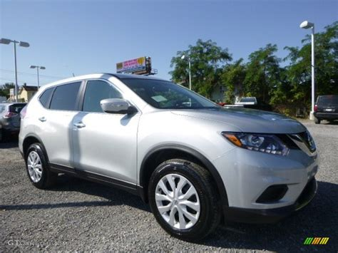 2015 Brilliant Silver Nissan Rogue S Awd 106397816