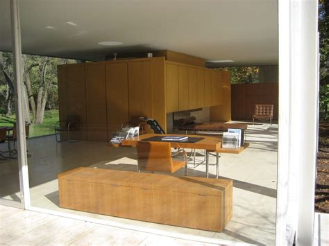 casa farnsworth farnsworth house data photos plans wikiarquitectura
