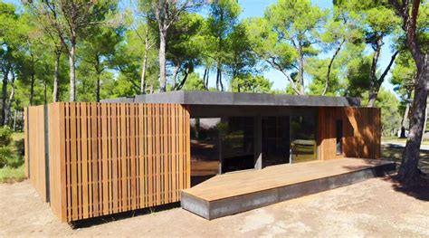 pop up homes dise 241 o de casa pasiva con nuevo sistema prefabricado