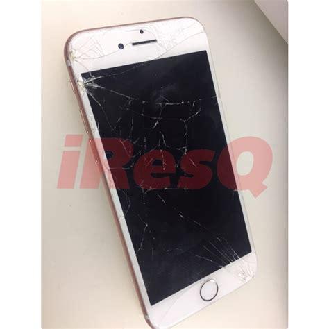 iphone  broken front glass retina display lcd