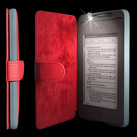 hudl pattern password red kindle touch lighted case