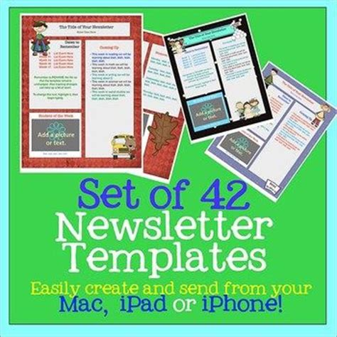 newsletter templates for pages ipad pinterest the world s catalog of ideas