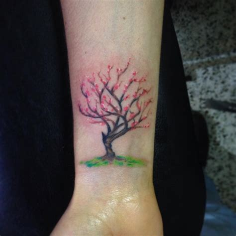 small tree tattoos for women tree wrist designs ideas and meaning tattoos for you