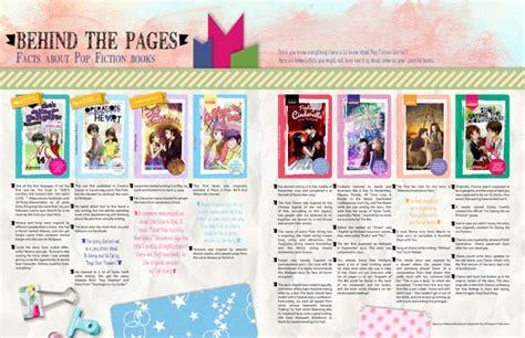 pop secrets an novel books pop the official magazine of pop fiction books hits stands