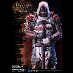 batman arkham knight azrael polystone statue