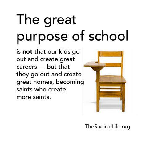what is the purpose of the purpose of school matthew warner