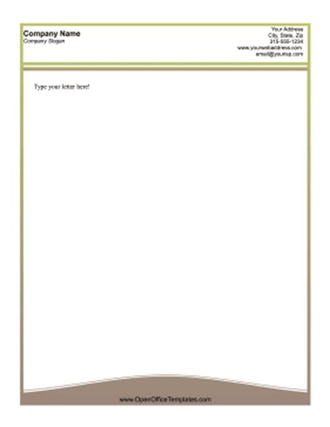 business letterhead openoffice search results for january newsletter template