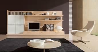 contemporary tv setup round coffee table modern living