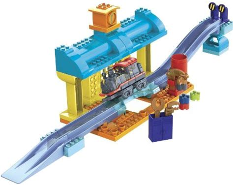 Chuggington Repair Shed by Mega Bloks Chuggington Review And Giveaway Chuggington