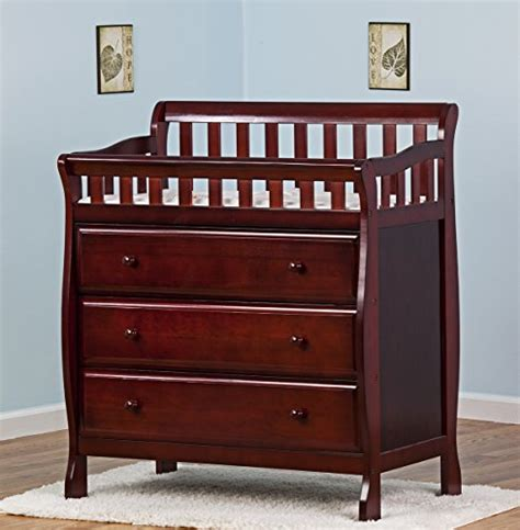 on me changing table and dresser cherry