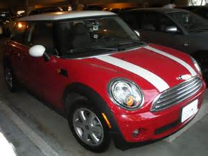 mini cooper with white stripes by rlkitterman on