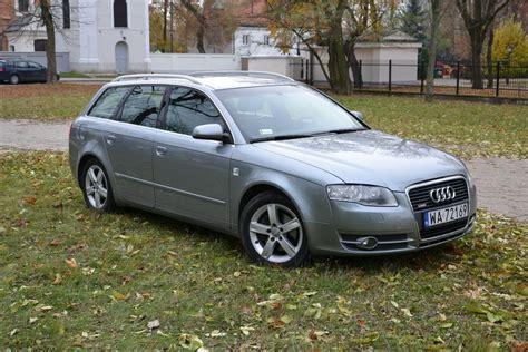 Audi A4 2007 Kombi by Audi A4 B7 2007 Diesel 140km Kombi Szary Opinie I Ceny