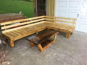 pallet bench gardening pinterest