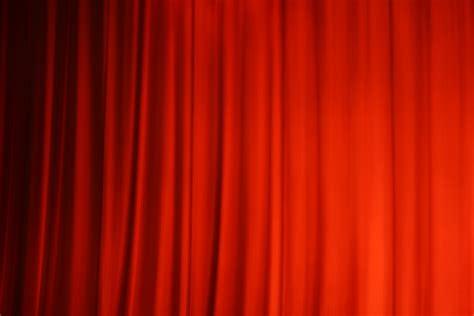 kino vorhang der vorhang ist gefallen bild foto dorian