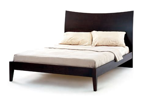 modern bed frames queen retro cappuccino modern platform bed frame by lifestyle