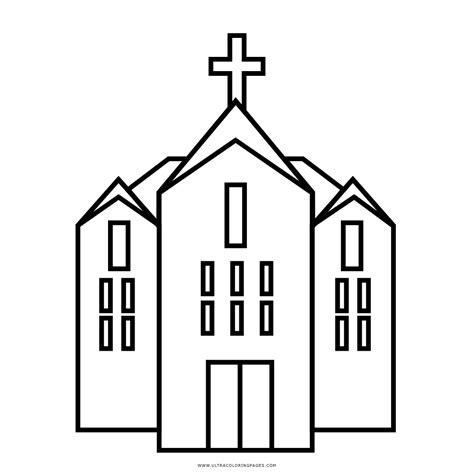 Collection of Iglesia Para Colorear Imagui   Dibujos De Iglesias ...