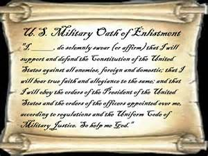u s military s oath of enlistment fellowship of the minds