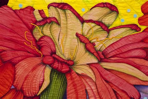 Velda Newman Quilts the of the quilt zinnia 17 5 foot wide quilt by velda newman