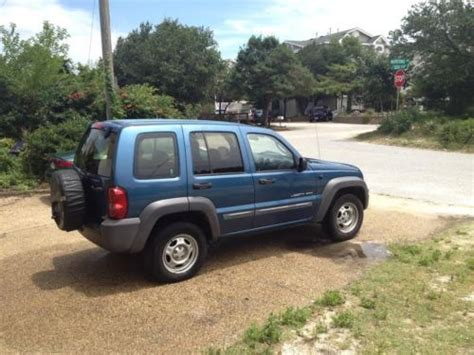 jeep liberty rust purchase used 2003 jeep liberty sport 4x4 5 speed manual