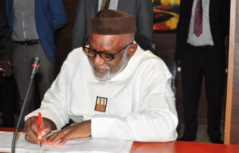 Ondo State Government Cabinet by Ondo Governor Akeredolu Names Commissioners See List